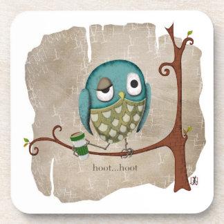 Owl Coffee Wake Up Call Coaster