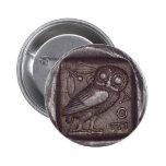 Owl Coin Pin