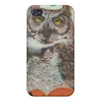 Owl Collage  I Phone 4 Case iPhone 4/4S Covers