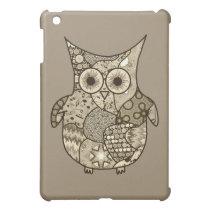 Owl Collage iPad Mini Cases