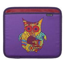 Owl Collage iPad Sleeve