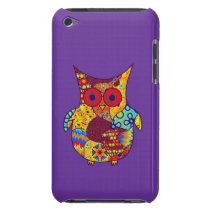 Owl Collage iPod Touch Cover