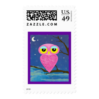 owl collection stamp