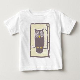 Owl Color Infant T-shirt