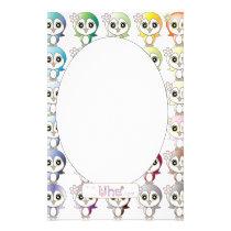 Owl: Colorful Buju Selection Stationery