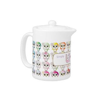 Owl: Colorful Buju Selection Teapot