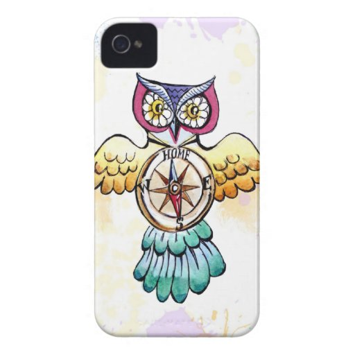 Owl compass east or west home is best iPhone 4 covers