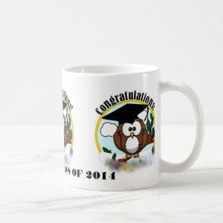 OWL CONGRATULATIONS CLASS OF 2014 COFFEE MUG