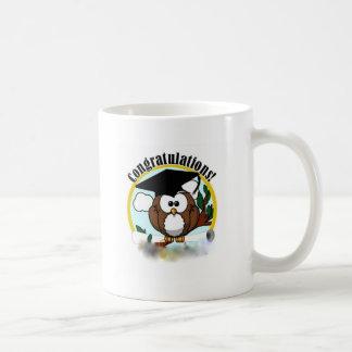 OWL CONGRATULATIONS COFFEE MUG
