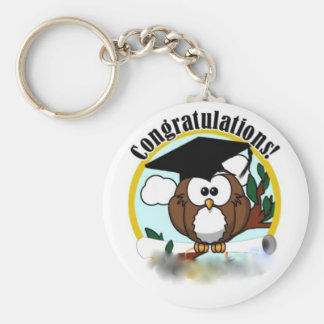 OWL CONGRATULATIONS KEY CHAINS