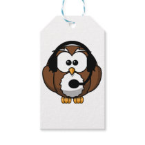 Owl Contact with Headset Gift Tags
