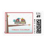 Owl Couple Christmas Postage {TBA}