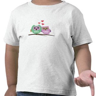 Owl couple t shirts