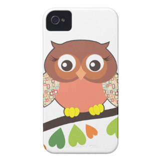 Owl Critters iPhone 4 Case