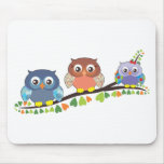 Owl Critters Mouse Pad