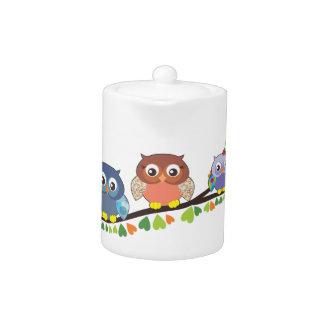 Owl Critters Teapot