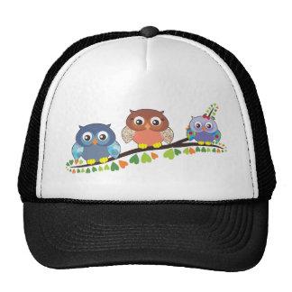 Owl Critters Trucker Hat