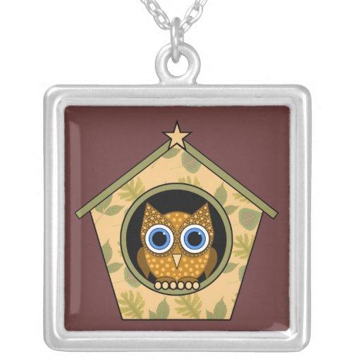 owl custom jewelry