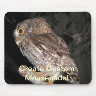 Owl Custom Mousepad