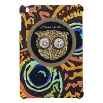 owl cute bird iPad mini cover