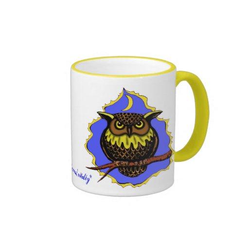 Owl Cute Mug Design Zazzle
