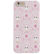 Owl Damask iPhone 6 plus barely there case