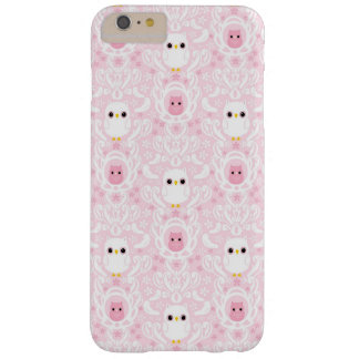 Owl Damask iPhone 6 plus barely there case Barely There iPhone 6 Plus Case