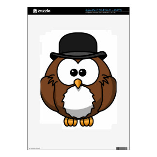 owl decal for iPad 3