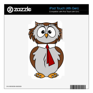 Owl Decal For iPod Touch 4G