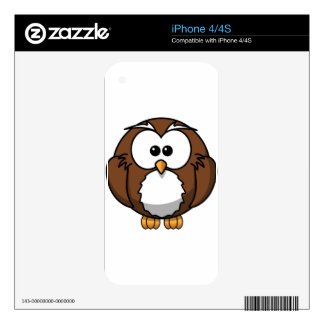 Owl. Decals For iPhone 4