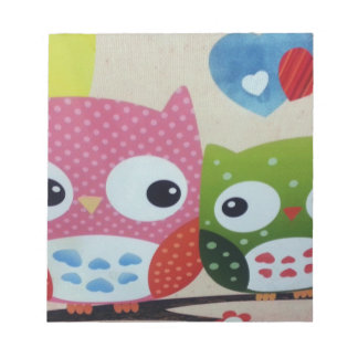 Owl Decoration Memo Notepads