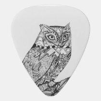 Owl Deer Guitar pic Guitar Pick