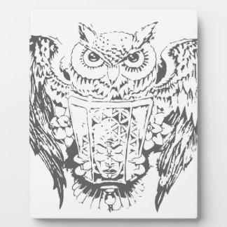 Owl Deity Plaque