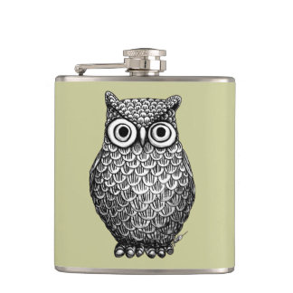 Owl Design Flask