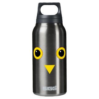 Owl Design Insulated Water Bottle