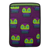 owl design MacBook sleeve