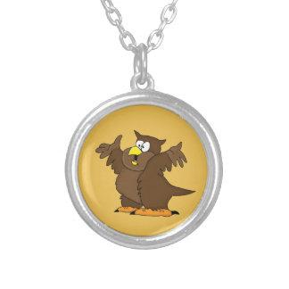 Owl design matching jewelry set