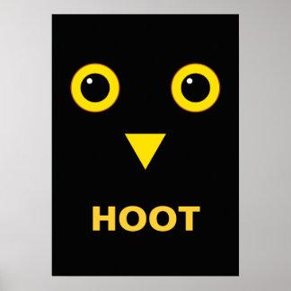 Owl Design Poster