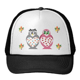 Owl Design Trucker Hat