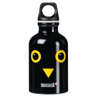 Owl Design Water Bottle