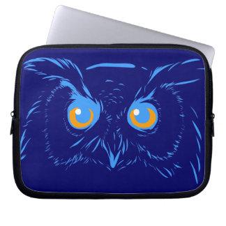 Owl Digital Art Electronics Sleeve Computer Sleeve
