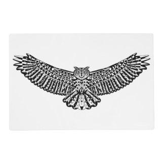 Owl Doodle Placemat