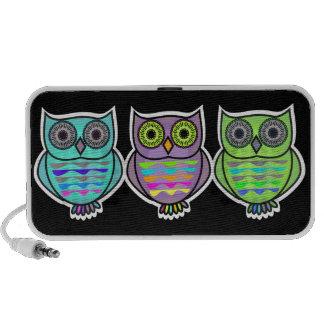 Owl Doodle Speaker