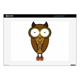 Owl Drawing Cartoon Character Laptop Skins