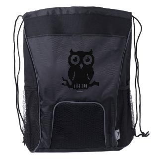 Owl Drawstring Backpack