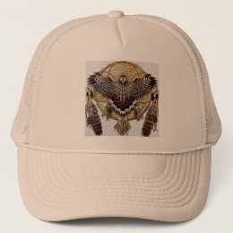 Owl Dream Catcher Trucker Hat
