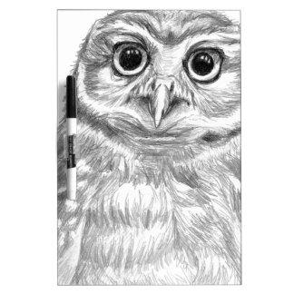 Owl Dry-Erase Board