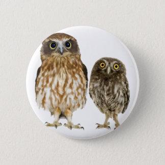 Owl Duo Pinback Button