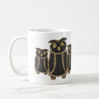 Owl - eagle owl - fogy coffee mug
