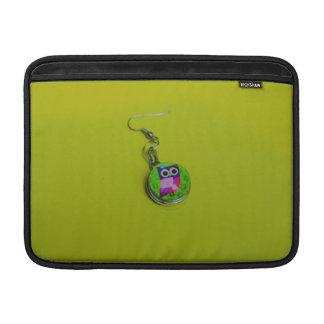 Owl earring macro MacBook air sleeves